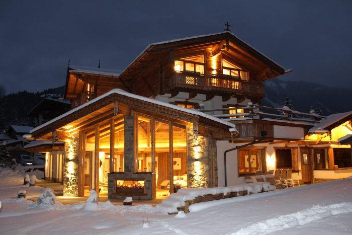 Chalets & Wellness im Winter