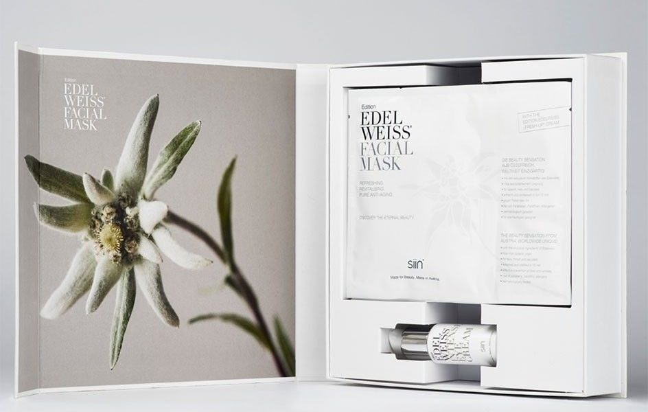 Edition Edelweiss Facial Mask Box